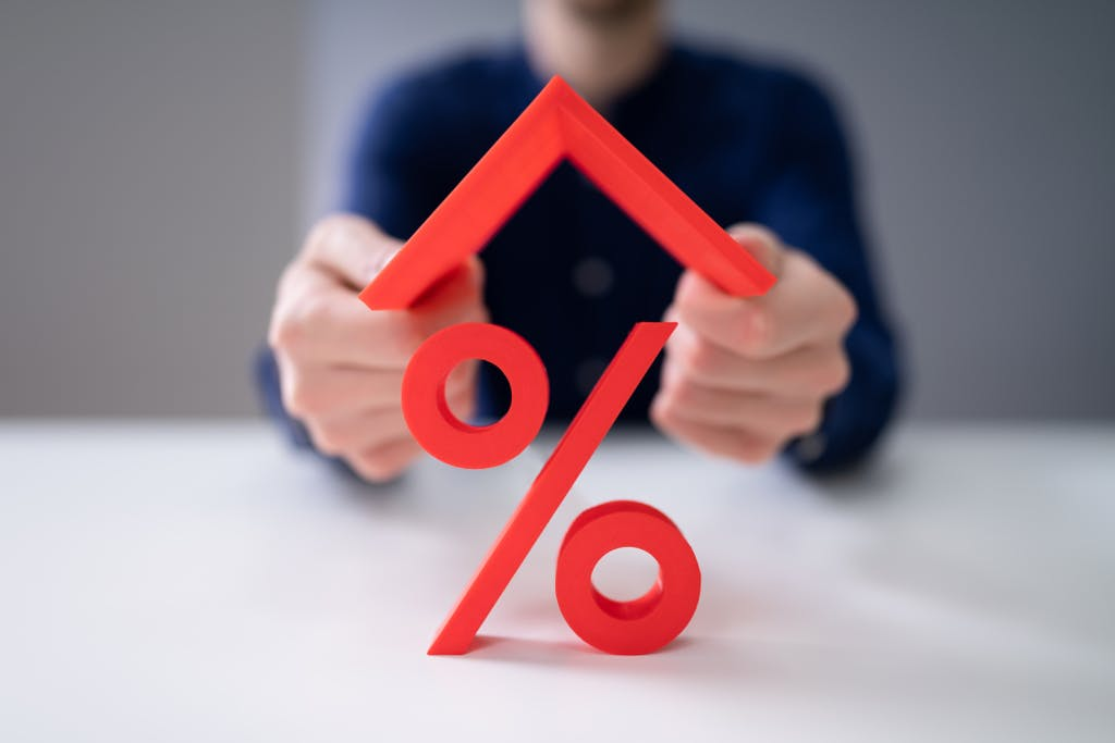 Roof over interest rate percentage