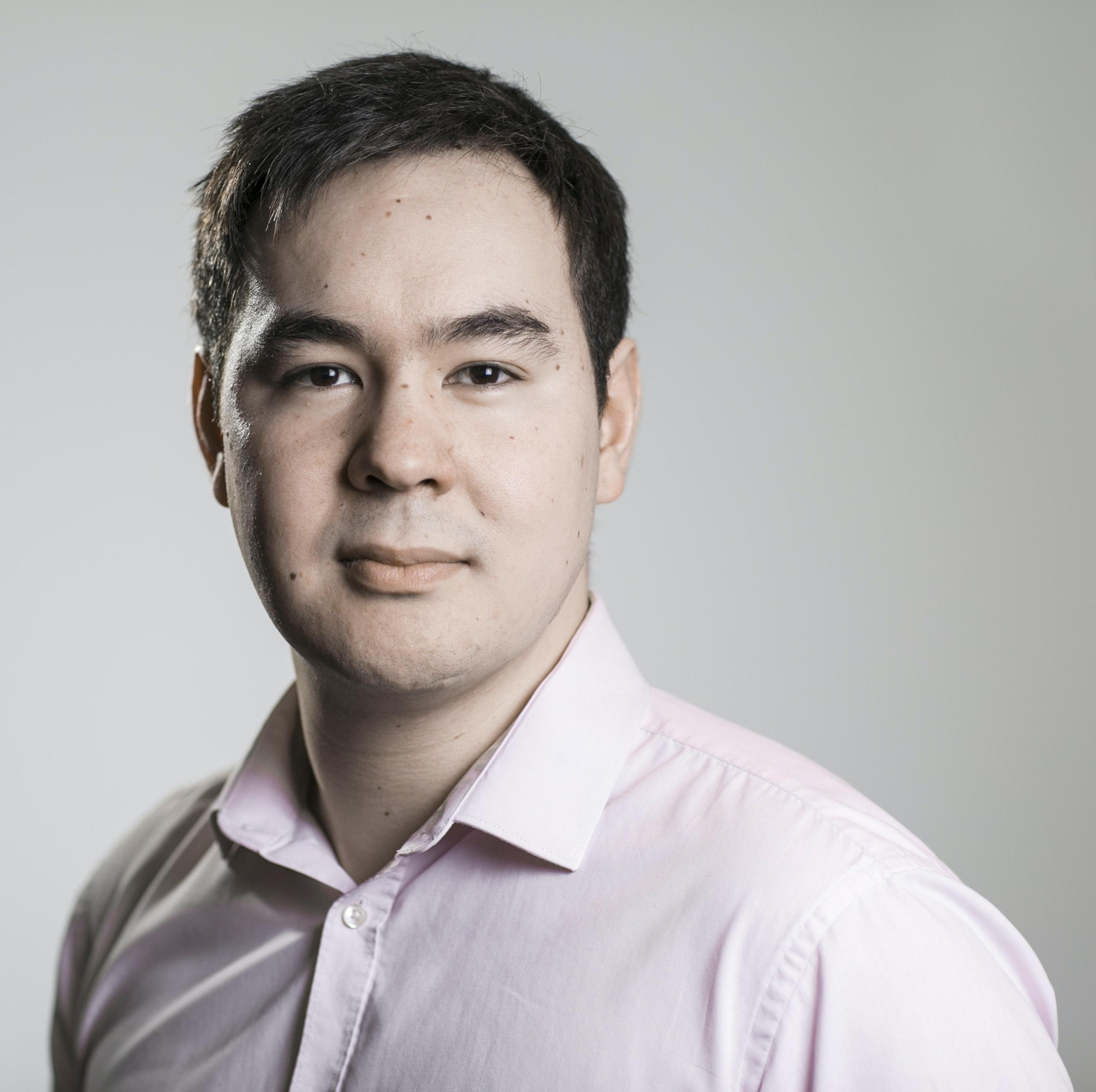 Photograph of Nick Renaud-Komiya