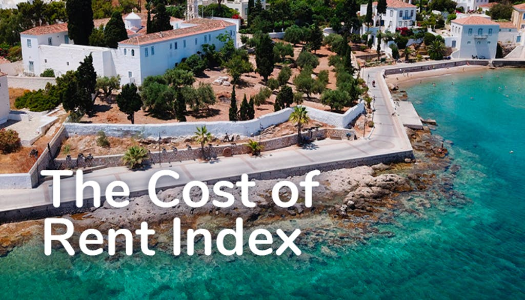 The cost of rent index