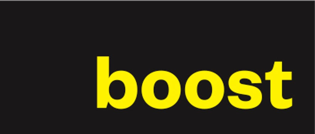 An image of the Boost Energy logo