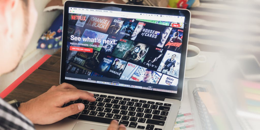 Netflix streaming image