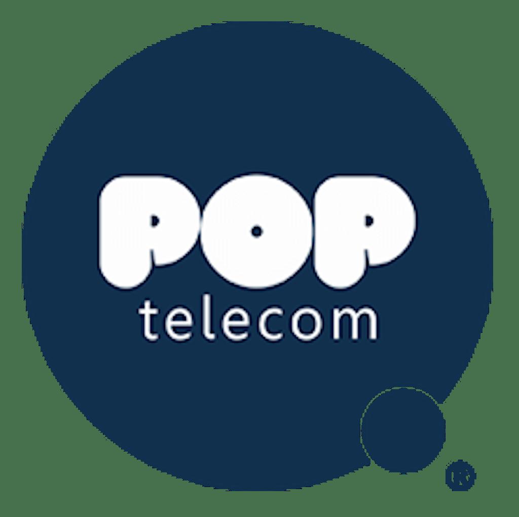 POP Telecom logo
