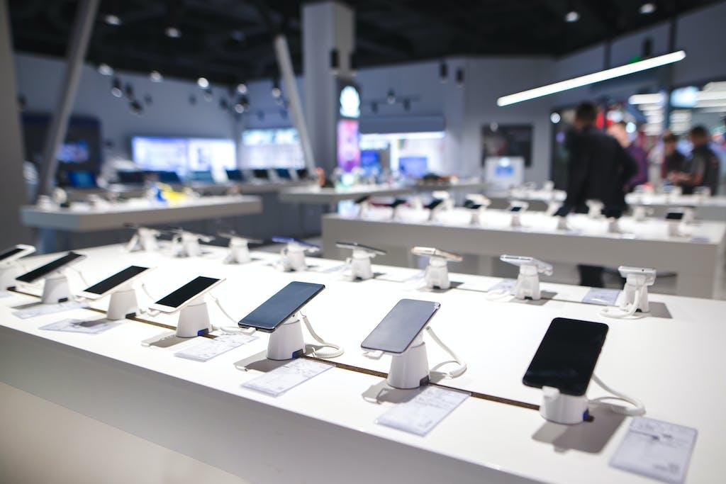 Mobile phone display