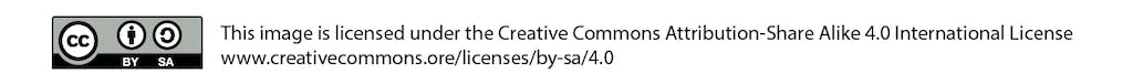 Graphic of the creative commons logo